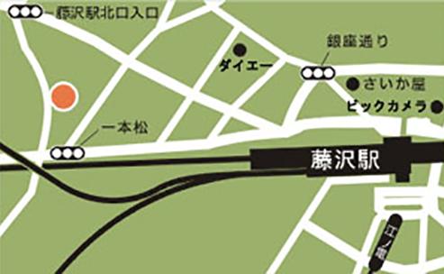 藤沢エリア地図