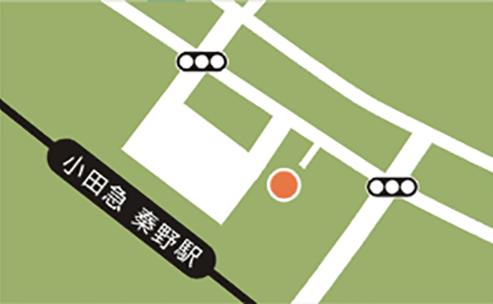 秦野エリア地図