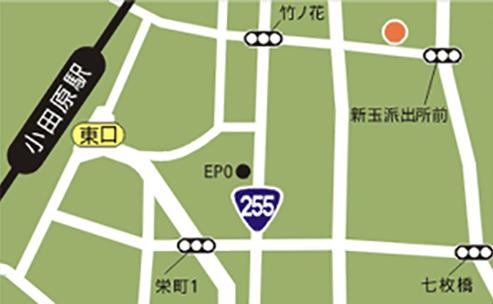 小田原エリア地図