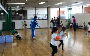 体操教室子ども