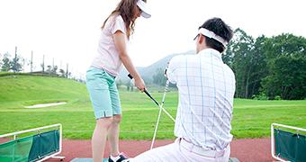 日本プロゴルフ協会認定ティーチングプロ中心の高い指導力